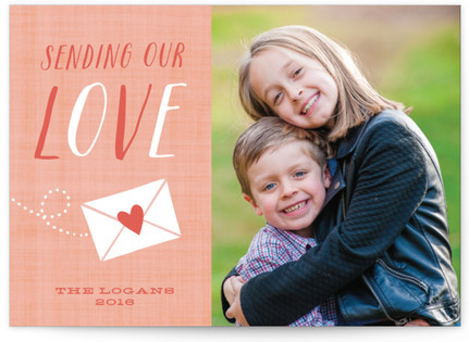 Sending Love Valentine's Day Postcards