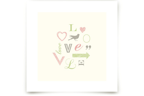 Language of Love Art Prints