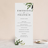 Foil-Pressed Wedding Programs