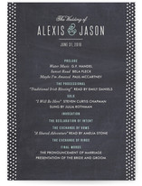 Alford Park Unique Wedding Programs