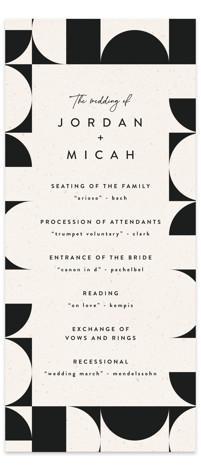 Kenai Wedding Programs