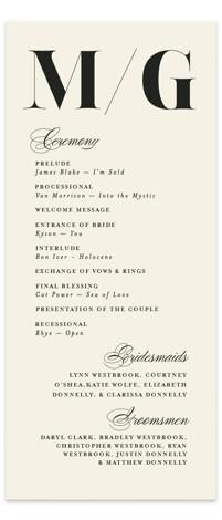 Big Date Wedding Programs