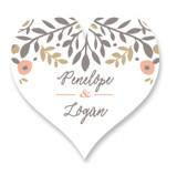 Lover's Floral Frame