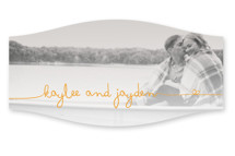 The Happy Couple Wedding Favor Stickers