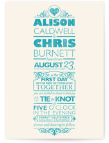 Classically Modern Print-It-Yourself Wedding Invitations