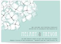 Sweet Hydrangea Print-It-Yourself Wedding Invitations
