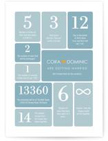 Wedding by Numbers by Ana Gonzalez