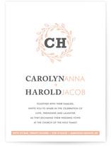 A New Leaf Print-It-Yourself Wedding Invitations