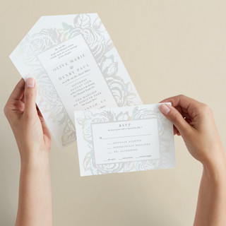 House of York All-in-One Gloss-Press Wedding Invitations