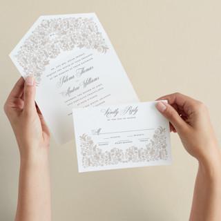 Hacienda All-in-One Wedding Invitations