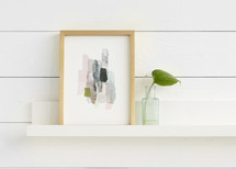 The Artful Shelf™ - Premium Wood Art Shelves