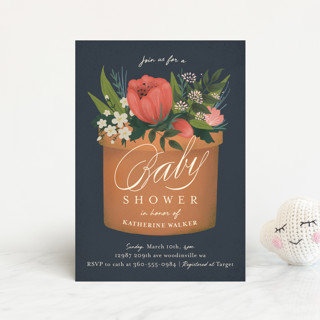 a garden of new life Baby Shower Postcards