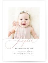 Happy Baby Grand Birth Announcements