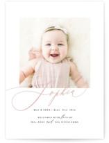 Happy Baby Birth Announcement Postcards