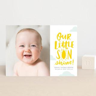 Little Sonshine Birth Announcement Postcards