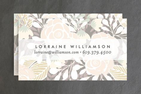 Abundance Business Cards