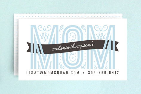 Mom Calling Card Business Cards