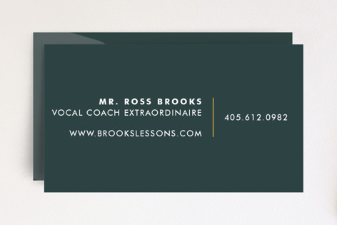 Virtuoso Business Cards