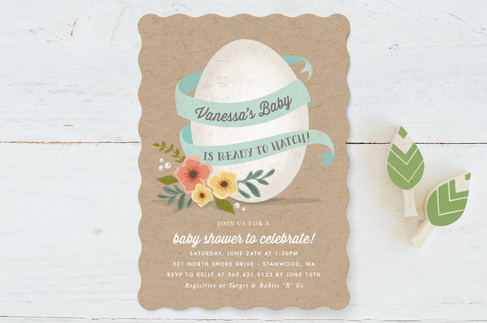 ready to hatch baby shower invitations by karidy w minted