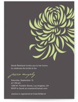 Bridal Blooms Bridal Shower Invitations