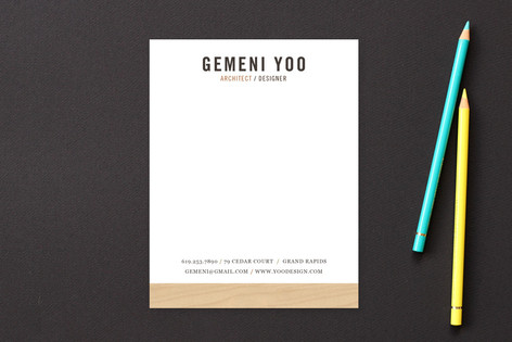 The Woods Business Stationery