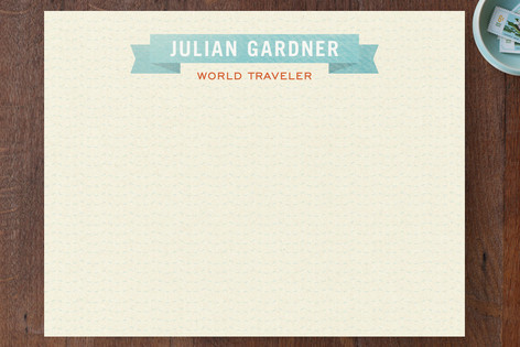 World Traveler Business Stationery
