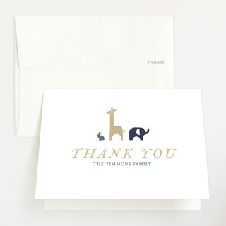 In the Wild Birth Announcements Thank You Cards