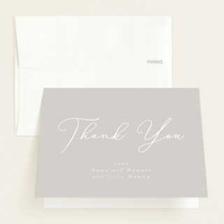 sweetness in script Birth Announcements Thank You Cards