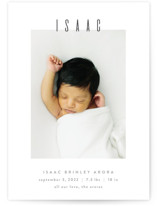 Noble Birth Announcements