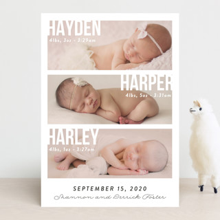 Instant Family Birth Announcements