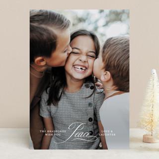 Sunrise Christmas Photo Cards