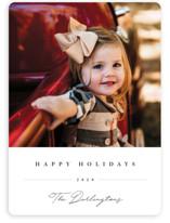 Sweet Signature Christmas Photo Cards