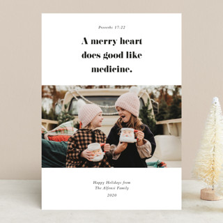 Proverbs Christmas Photo Cards