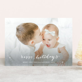 Counting Our Blessings Christmas Photo Cards