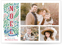Noel Christmas Photo Cards