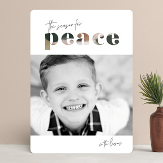 Artfully Christmas Photo Cards