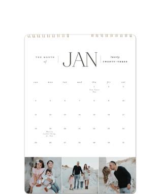 Classic Year Calendars