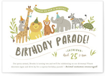 Animals on parade by Jennifer Wick