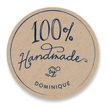 100% Handmade Custom Stickers