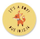 Little Fox Custom Stickers