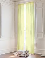 Oaring Around Curtains