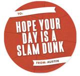 Hoop Shot Classroom Valentine's Cards