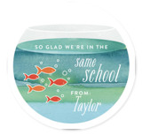 School Of Fish Classroom Valentine's Cards
