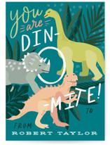 You are Dino-mite! Classroom Valentine's Cards