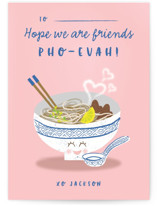 Love You Pho Evah Classroom Valentine's Cards