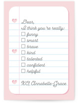 Notebook Check by Shannon Kohn