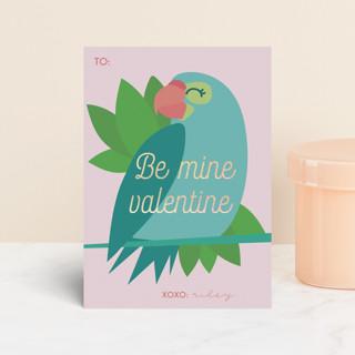 Bird Love Foil Valentine Cards