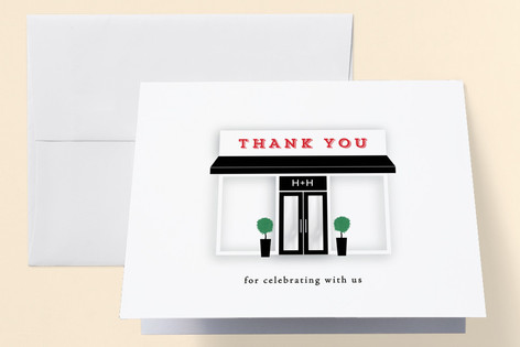 Grand Opening Professional/Charity Thank You Cards