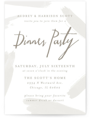 Dinner Party Online Invitations | Minted