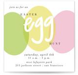 Modern Easter Egg Hunt Easter Online Invitations